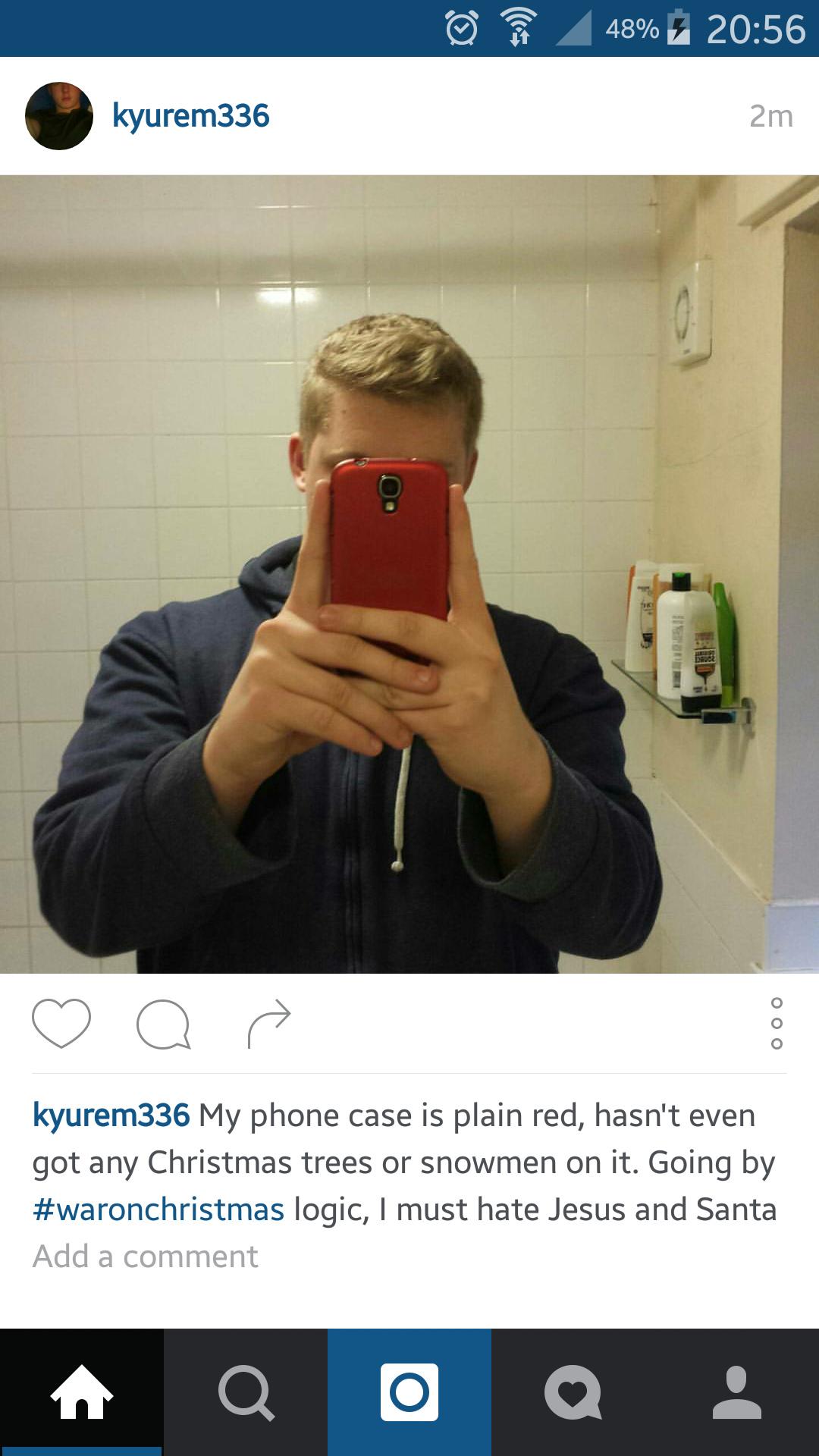 Feeling salty as fuck on instagram tonight - meme