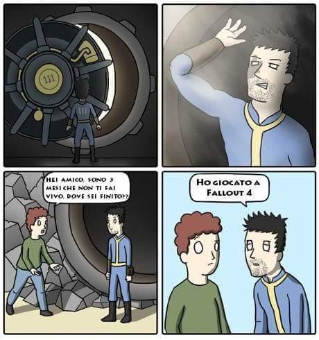 Dopo Fallout 4 - meme