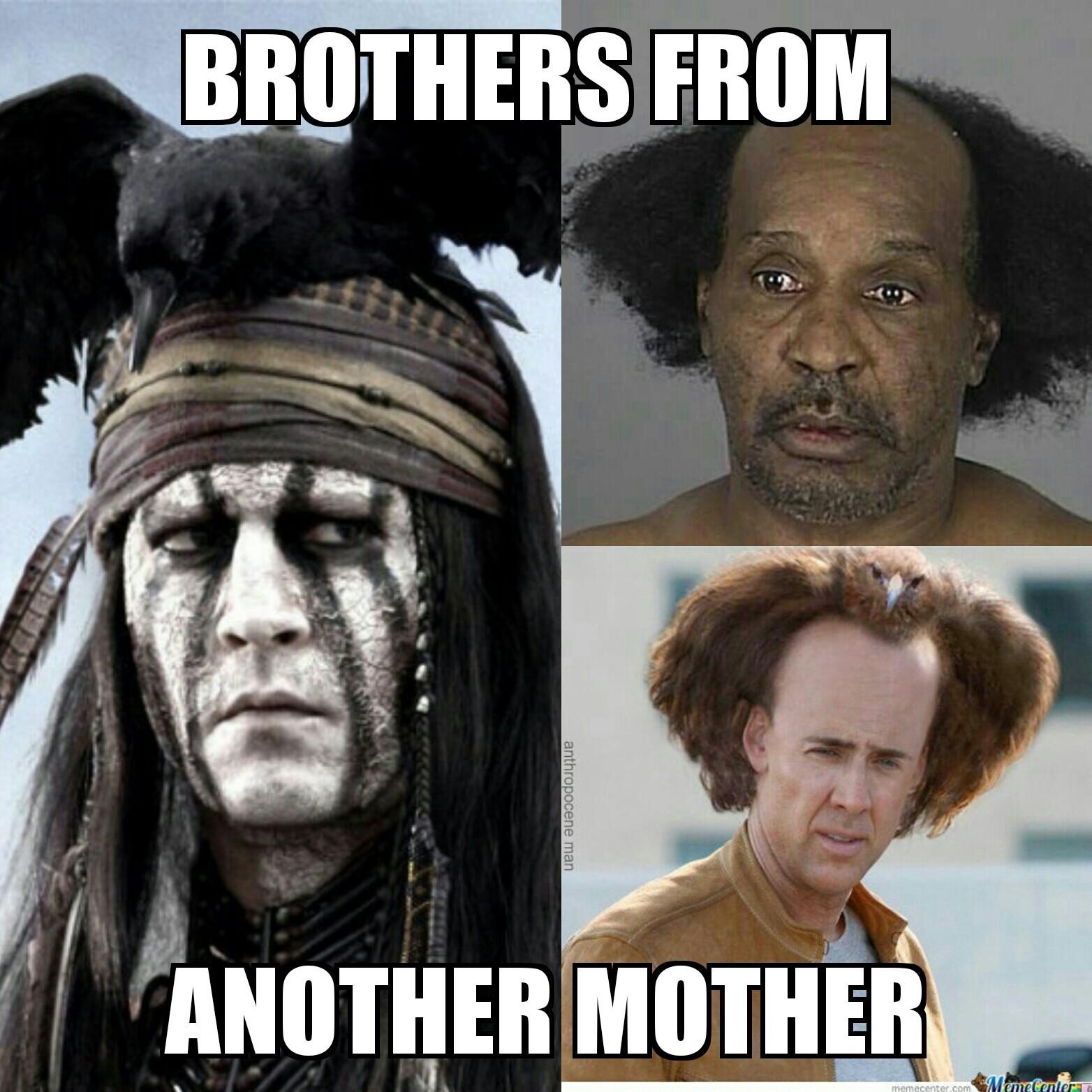 Weird hairstyles - meme