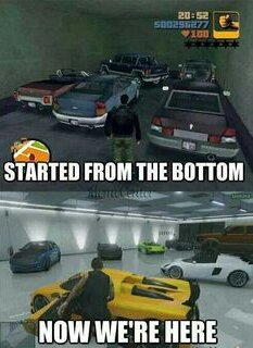GTA has really changed - meme