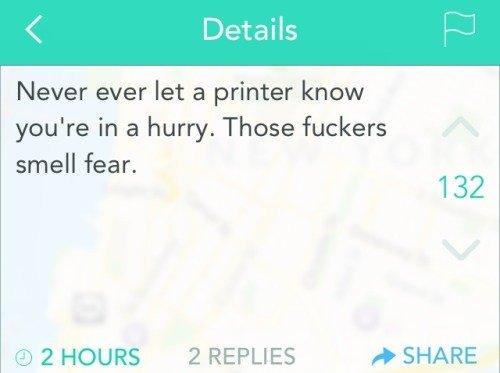 scumbag printers - meme