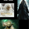 If only Peter Jackson, JK Rowling and George Lucas would would work together to make this happen