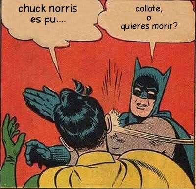 Callate robin - meme