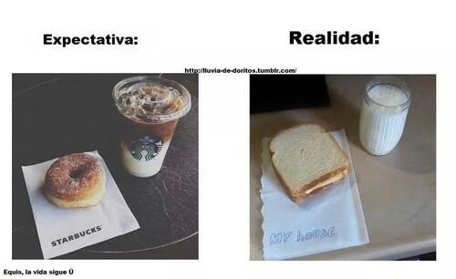 Triste realidad