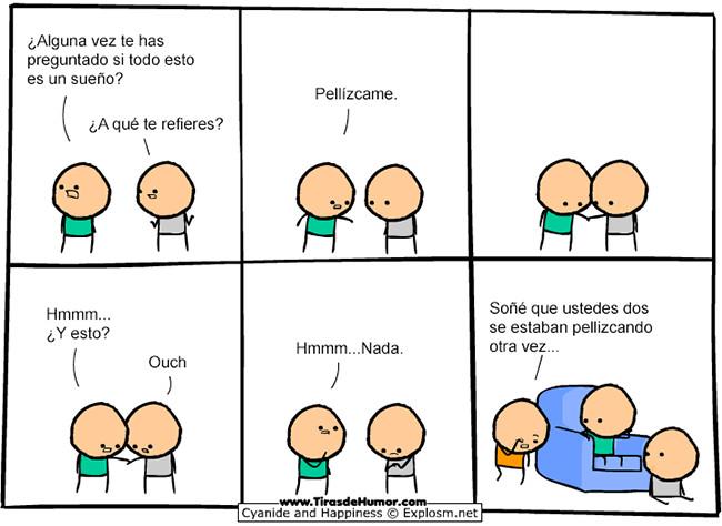 Pellizcos - meme
