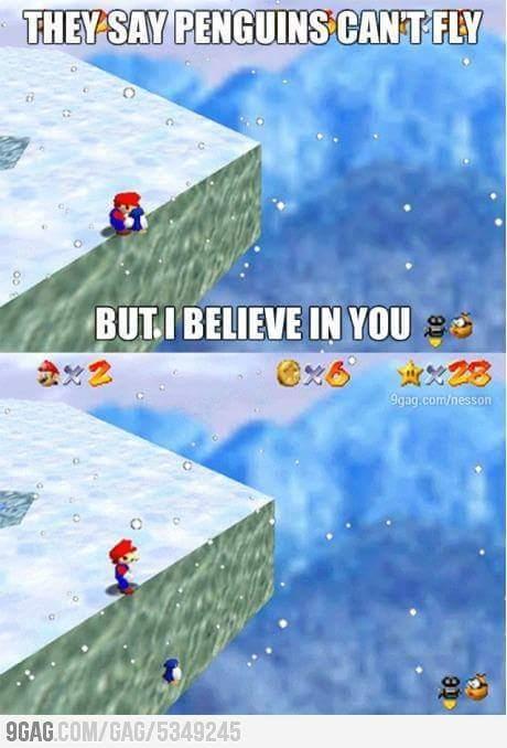 I believe in you - meme