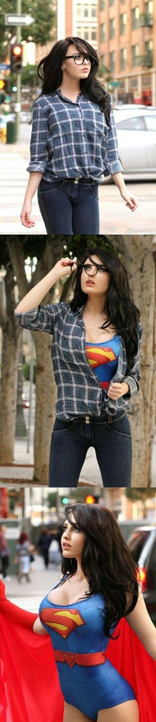 Super Girl \ :v / - meme