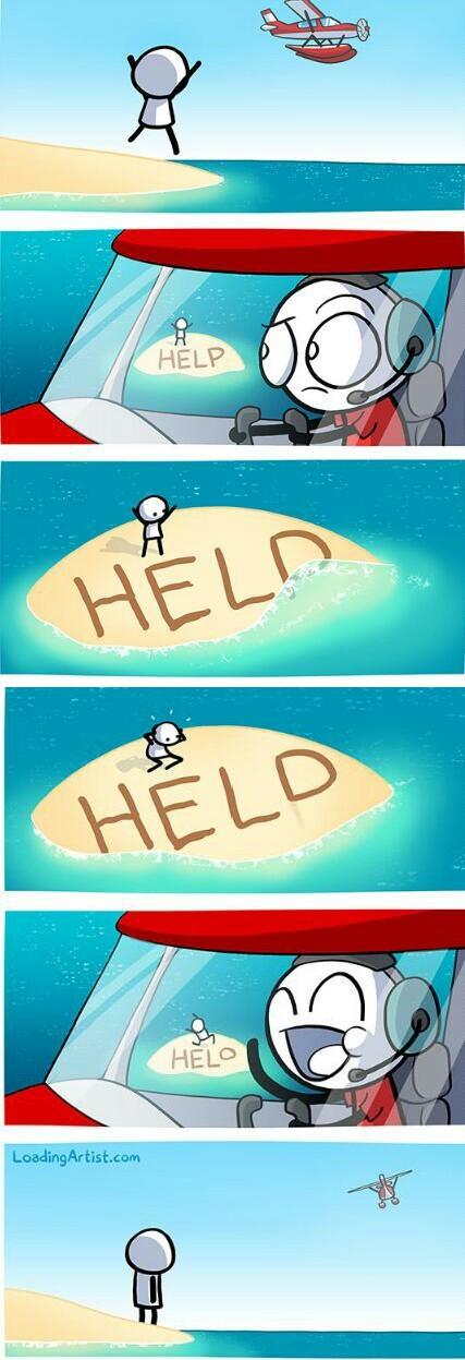 Help! - meme