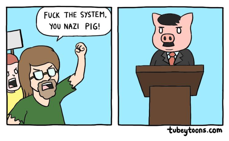 Nazi Pig - meme