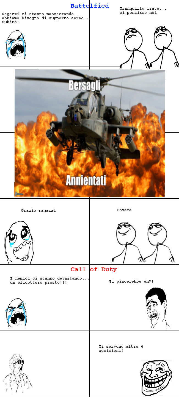 Battelfield Vs Cod - meme