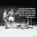 Boxers life