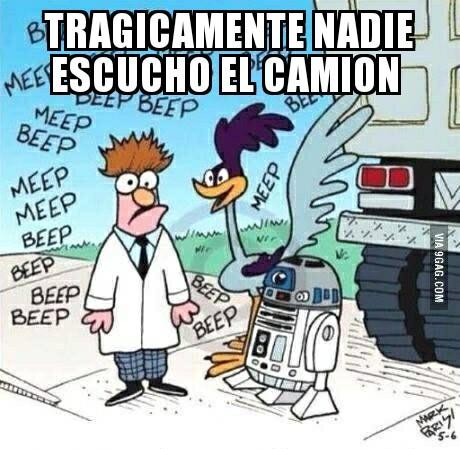 Beep beep - meme