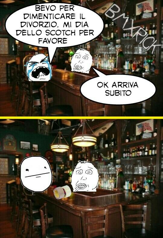 Chi indovina da dove ho preso l'immagine del bar verrà citato nel prossimo meme