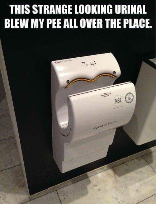 High tech pisser - meme