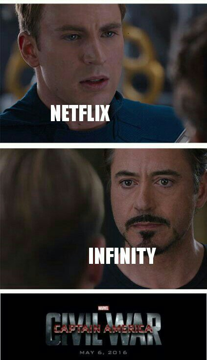 Netflix 4 ever - meme
