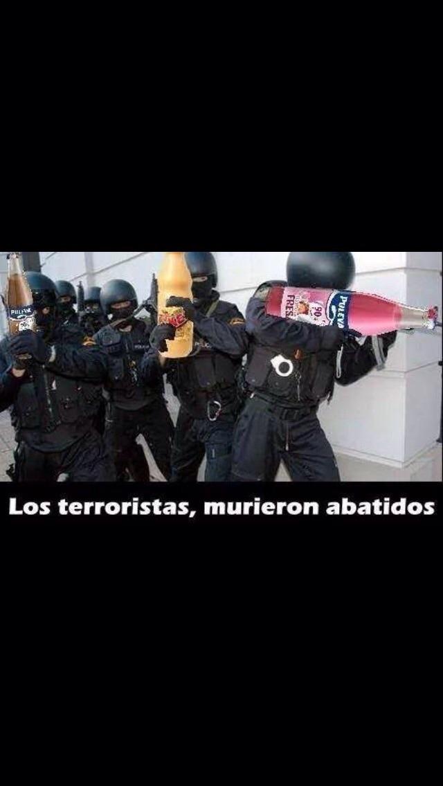 Terroristas abatidos - meme