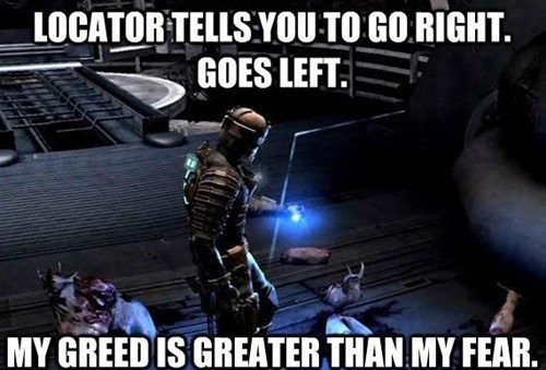 Dead is space - meme