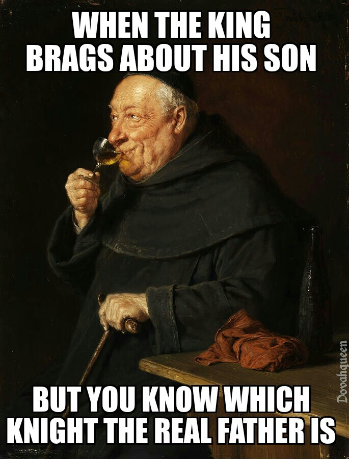 He is my new favourite painting - meme