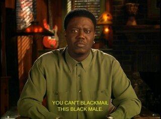 Blackmail a Black Male - meme