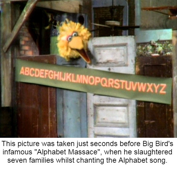 Here's Big Bird - meme