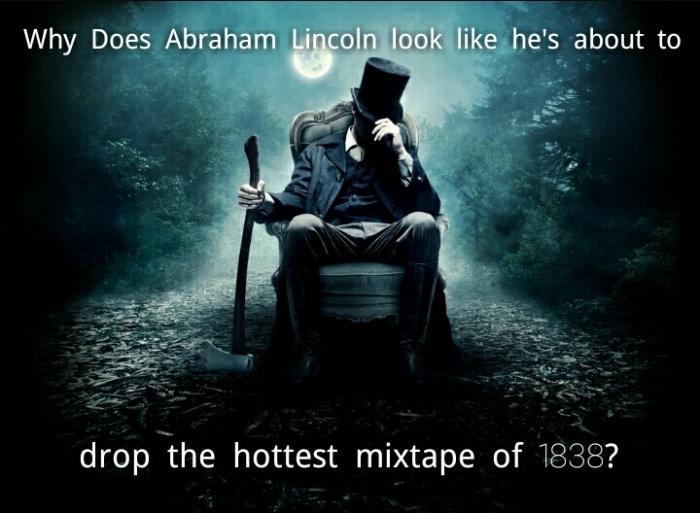 Rap battle Lincoln? - meme