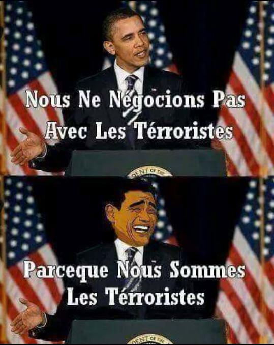 Obama et ses secret. - meme