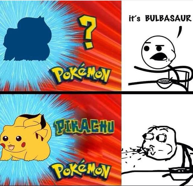 Wait, what ? [Bulbasaur = Bulbizarre] - meme