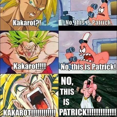 Kakarot / Patrick - meme