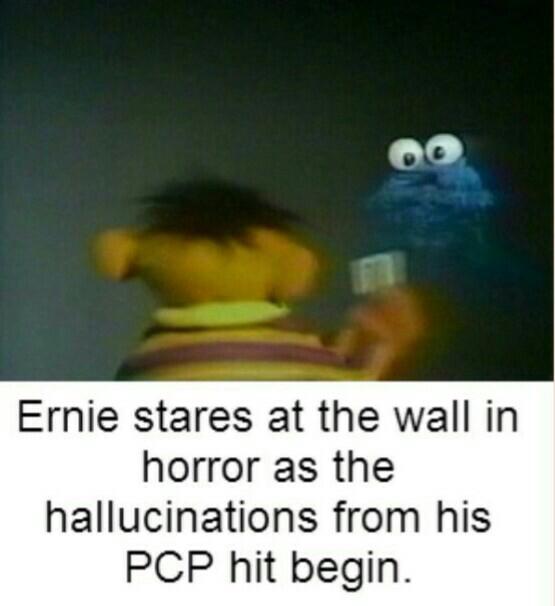 Hallucinations suck - meme