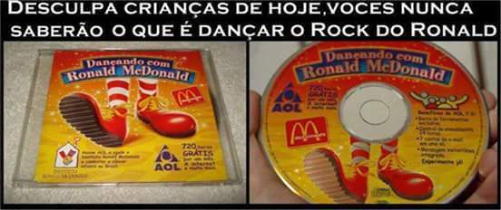 É o rock do ronald!!! - meme