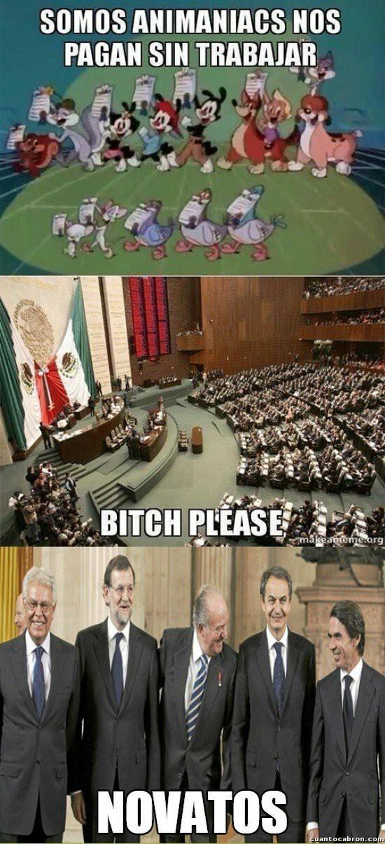 Putos politicos e_e - meme