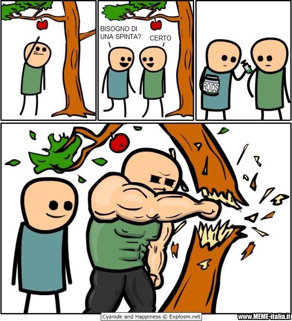 #copiare è lecito se dite che è repost siete coglioni - meme