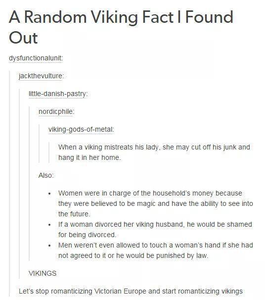 Viking Feminism - meme