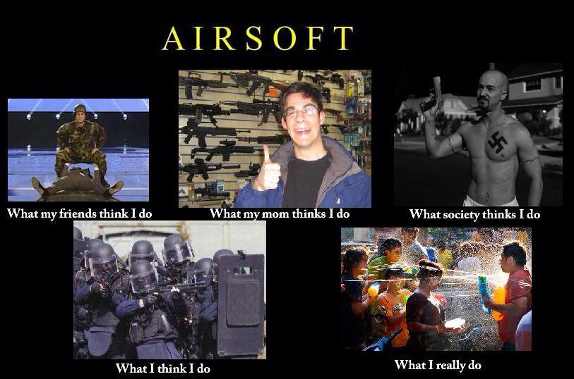 Airsoft stuff - meme