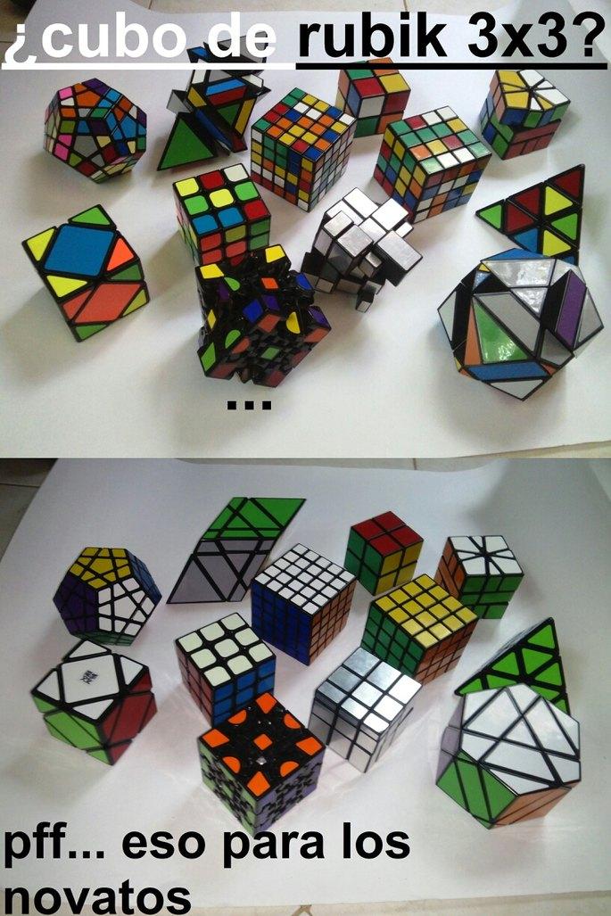 Cubos de Rubik :) - meme