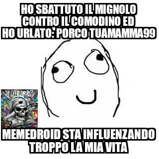 *porcotuamamma99returns* spero piaccia - meme