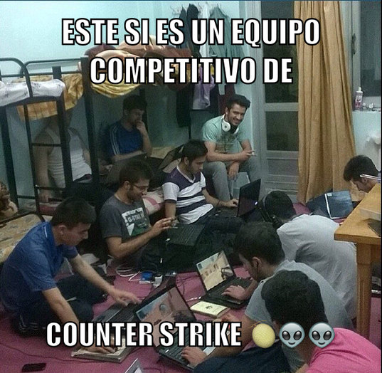 Competitivo - meme