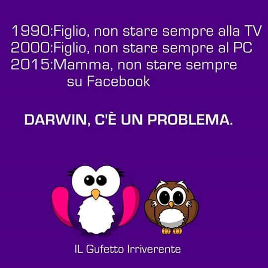 Darwin, c'è un problema - meme