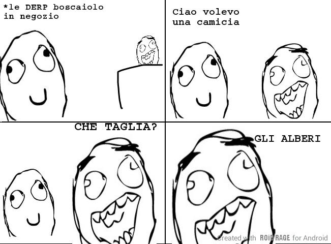 BOSCAIOLO - meme