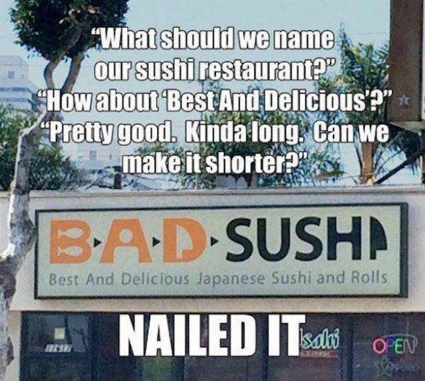 sushi / pussy, same thing ( ͡° ͜ʖ ͡°) - meme