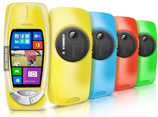 Le retour de Nokia avec 41mp - meme