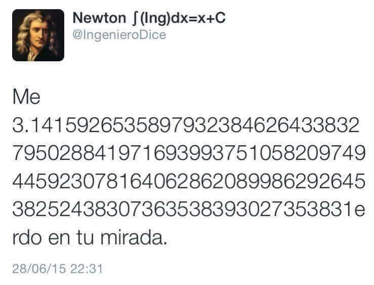 chiste matemático - meme