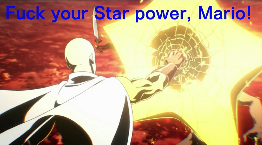 One Punch Man is an amazing anime - meme