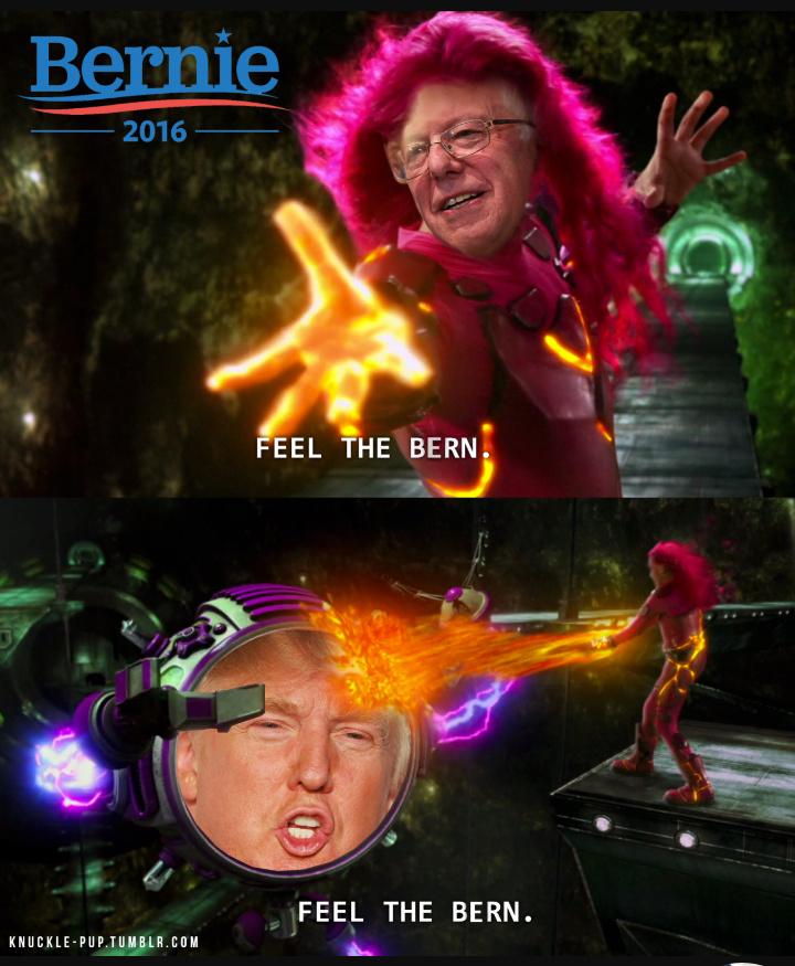 Bernie sanders - meme