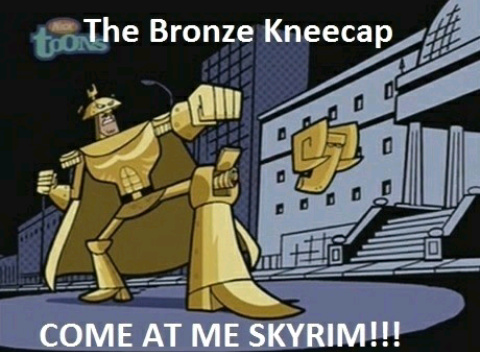 Come at me skyrim - meme