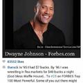 Dwayne Johnson is love