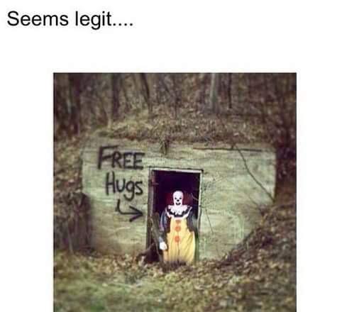 Wanna free hug? - meme