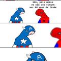 Capitaum América e tipu u SeuTroll: Virjão