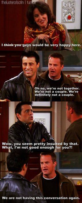Chandler #4-If they were gay*Best Couple Ever* - meme