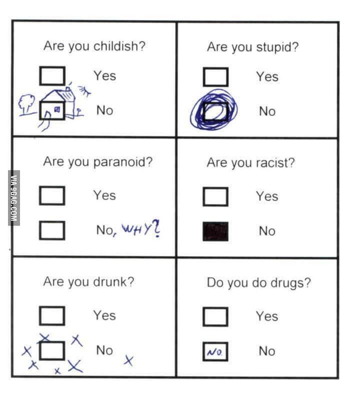 Test psycho - meme